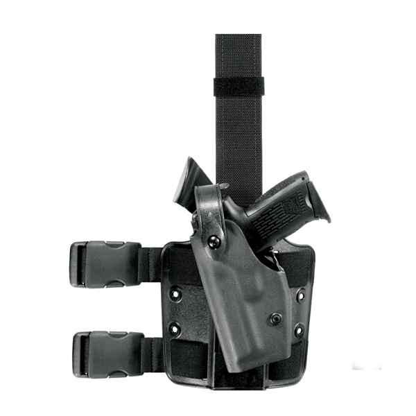 Safariland 6004 Tactical Holster, LH, Tac Black, Walther P-5