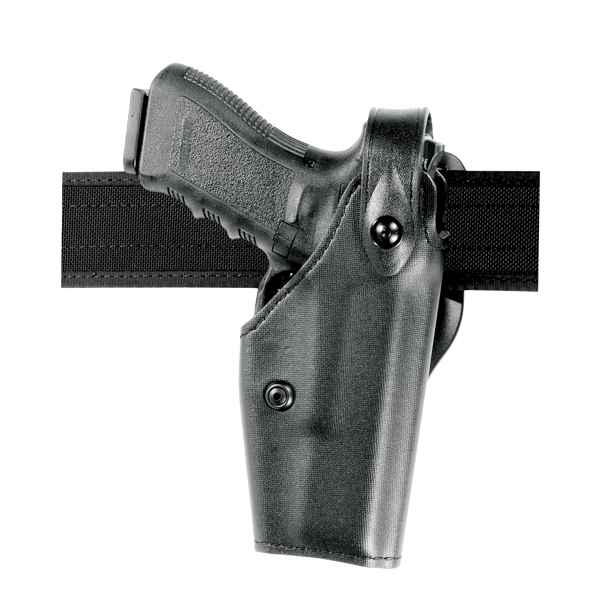 Safariland 6280 Duty Holster, RH, Plain, Black, Glock 17/22 w/M6/M3