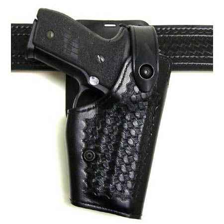 Safariland 6285 Holster B/W Black RH S&W 5906TSW w/5M light