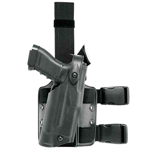 Safariland 6304 Tactical Holster, RH, STX TAC, Black, Glock 17/22