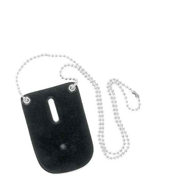Safariland 7352 Badge Holder w/Neck Chain, Black
