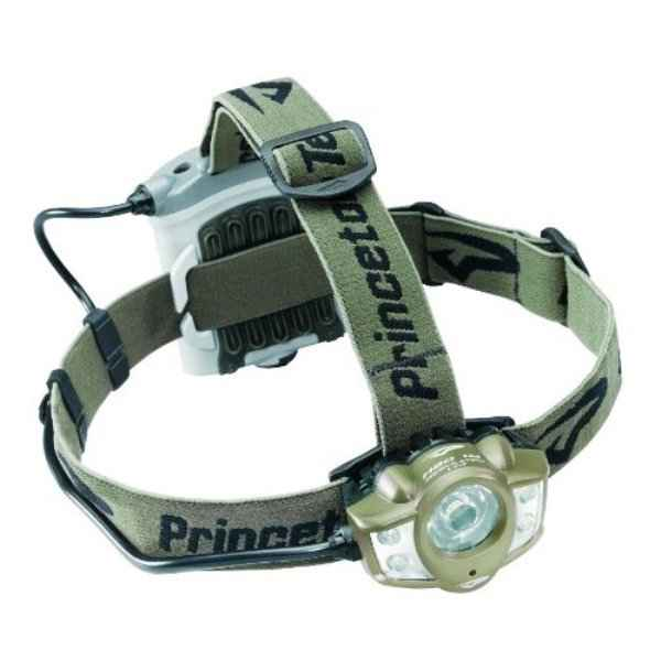 Princeton Tec Apex Headlamp, OD Green w/White LEDs