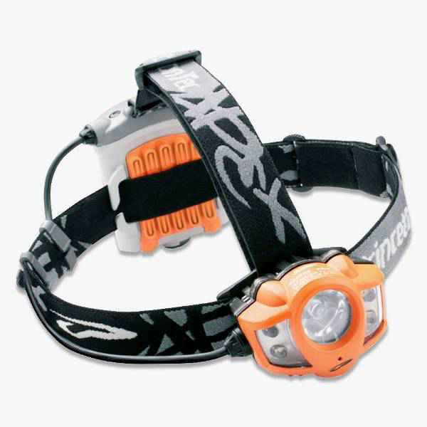 Princeton Tec Apex Headlamp, Orange w/White LEDs