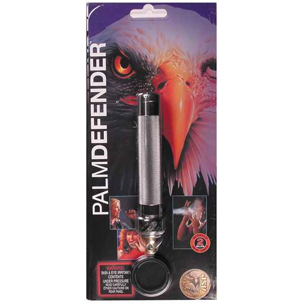 ASP Palm Defender Aerosol, Pewter