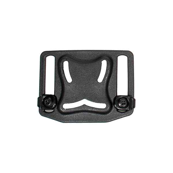 Blackhawk Belt Loop Platform with Screws, Black