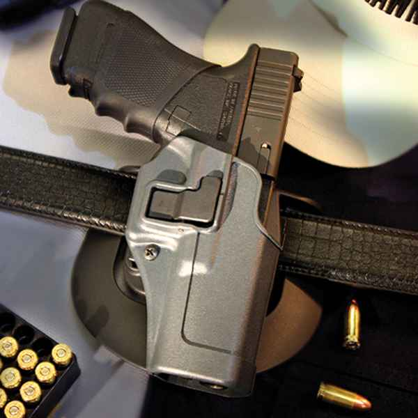 Blackhawk Serpa Sportster Holster, RH, Gun Metal Gray, H&K Full