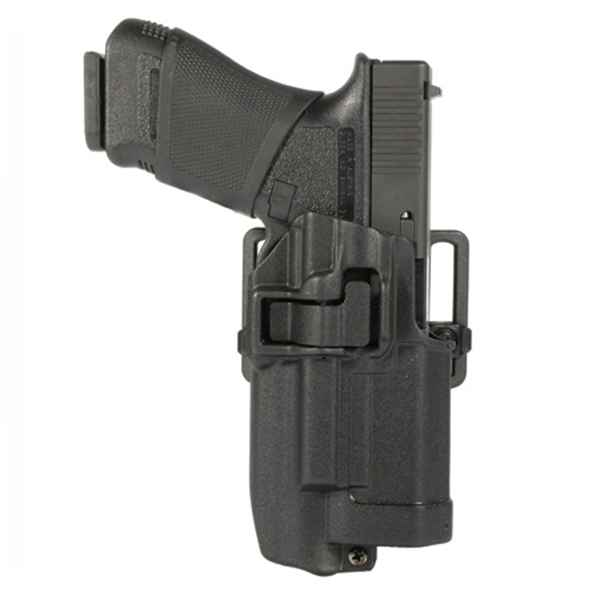 Blackhawk Serpa CQC Light Bearing Concealment Holster, RH, Matte,Glock