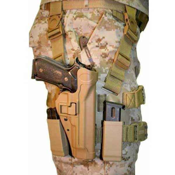 Blackhawk Serpa Tactical Level 2 Holster, RH, Coyote Tan, Beretta