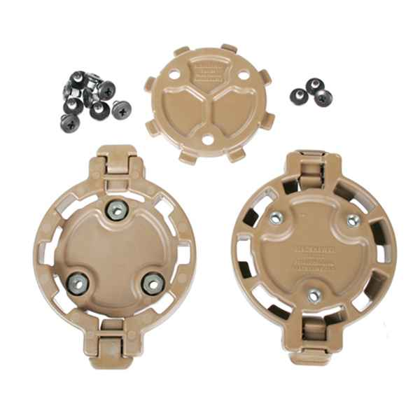 Blackhawk Quick Disconnect Kit, 2 Female & 1 Male, Coyote Tan