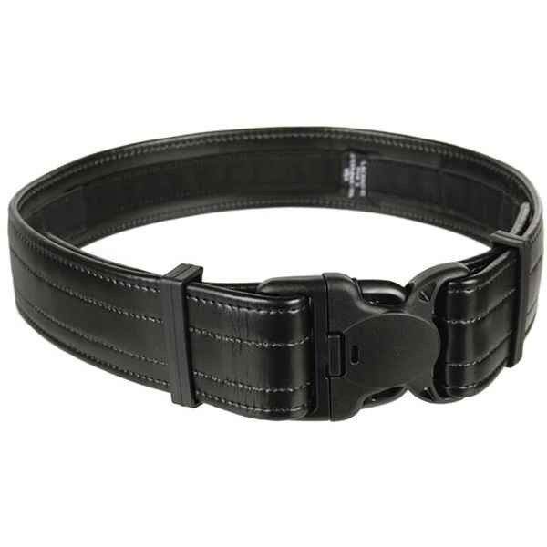 Blackhawk Reinforced Duty Belt w/Loop Inner, Black Plain, 38 - 42 inch