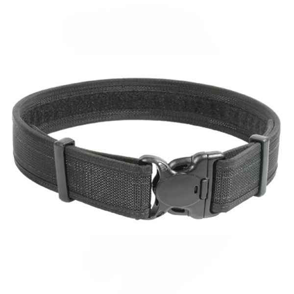 Blackhawk Reinforced Duty Belt w/Loop Inner, Black Plain, 32 - 36 inch