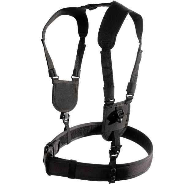 Blackhawk Ergonomic Duty Belt Harness, Black, Large/X-Large
