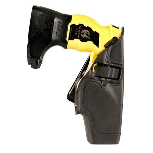 Blackhawk Taser X-26 Level 2 Duty Holster, LH, Black Matte
