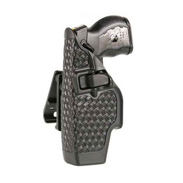 Blackhawk Taser X-26 Level 2 Duty Holster, LH, Black BW