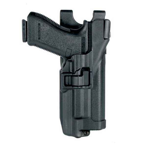 Blackhawk Serpa Level 3 Duty Holster, RH, W/W, 1911