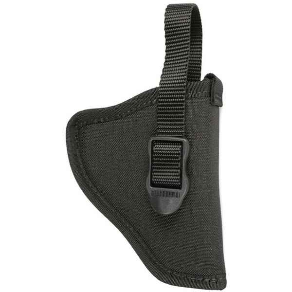 Blackhawk Hip Holster, RH, Black Nylon, Medium/Large Autos, Size 8