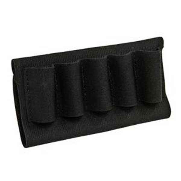 Blackhawk Buttstock Open Shotgun Shell Holder, Black