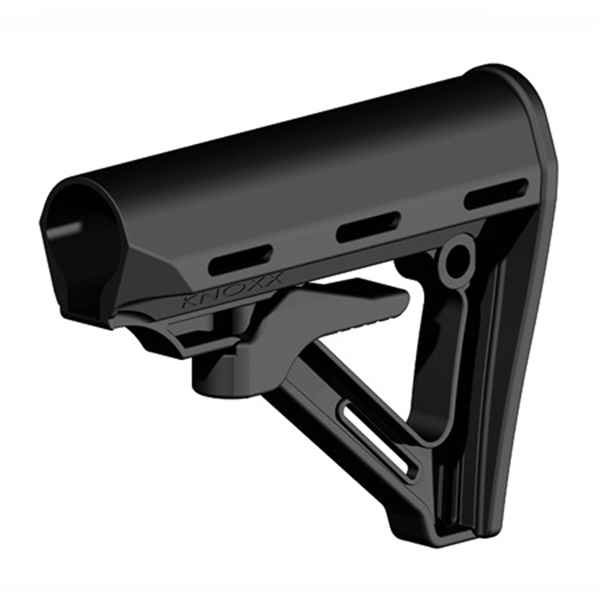Blackhawk Adjustable MilSpec AR/M4 Buttstock, Black Poly., 5 Position