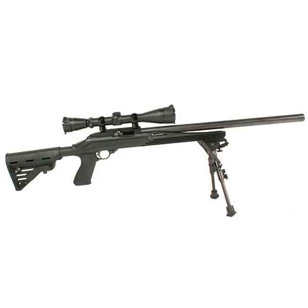 Blackhawk Axiom R/F Stock Ruger 10/22 Black Black Polymer Full Float