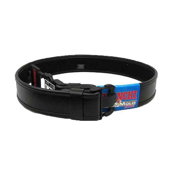 Bianchi 7950 Duty Belt Plain Black XLG 46-52