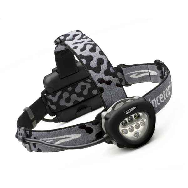 Princeton Tec Corona Headlamp, Black, 90 lm, w/White LEDs