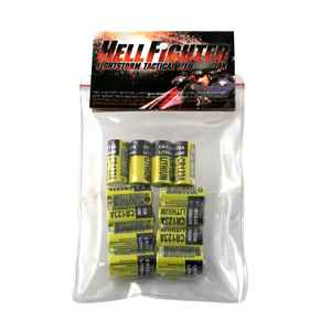 Hellfighter Lights 12 Pack CR123 Lithium Batteries