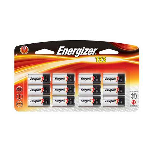 Energizer Ultimate Lithium 123 3v, 12 Pack