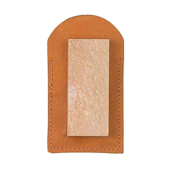 Fury Natural Arkansas Whetstone, Soft, w/Pouch