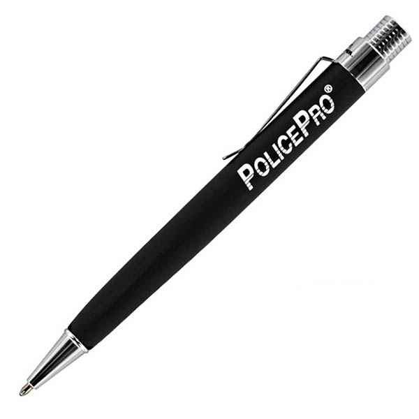Fisher Space Pens Police Pro Matte Black Retractable Pen