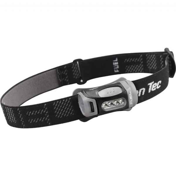 Princeton Tec Fuel4 Headlamp, 4 LEDs, Black & Charcoal Body