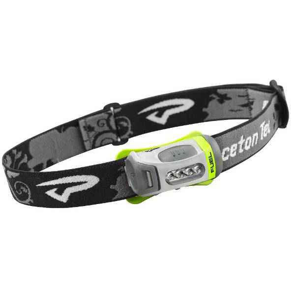Princeton Tec Fuel4 Headlamp, 4 LEDs, Green & Charcoal Body