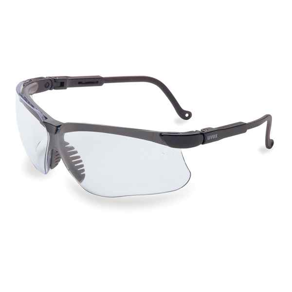 Howard Leight Genesis, Black Frame, Clear Lens