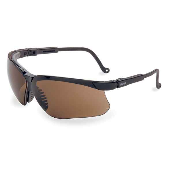 Howard Leight Genesis, Black Frame, Espresso Lens