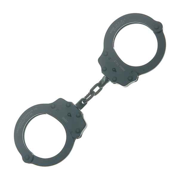 Peerless Chain Link Handcuff, Black Oxide Finish