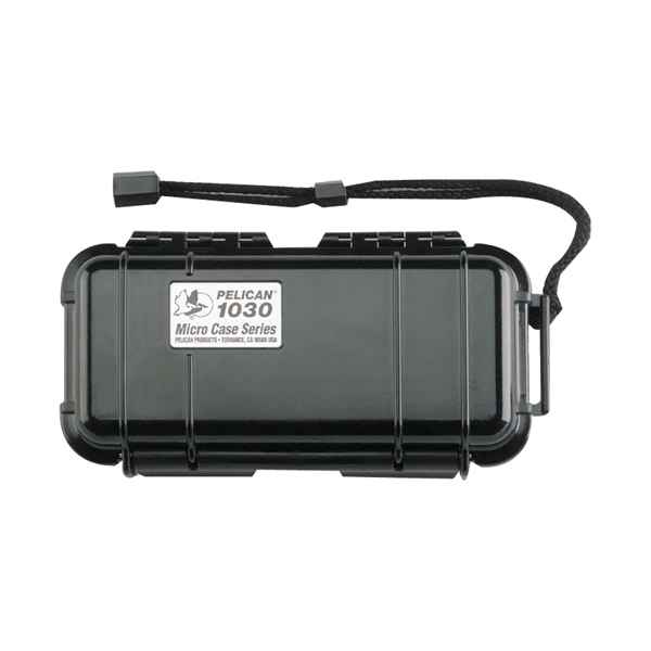 Pelican Products Micro Case Solid, Black, 7.5 x 3.88 x 2.44