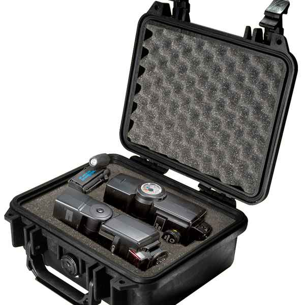 Pelican Products 1200 Case, Black, With Foam