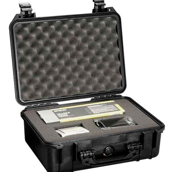 Pelican Products 1450 Case, Black, With Foam