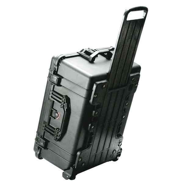Pelican Products 1610 Case, Black, with Wheels, with Foam