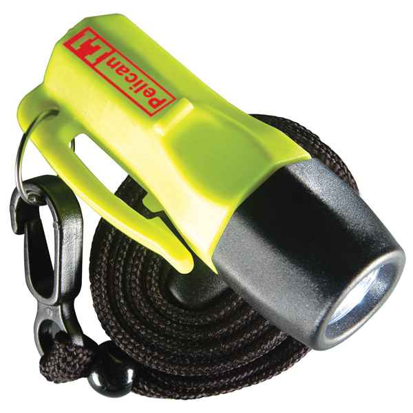 Pelican Products L1-LED, 4 Coin Batt, Yellow, Clam Packed