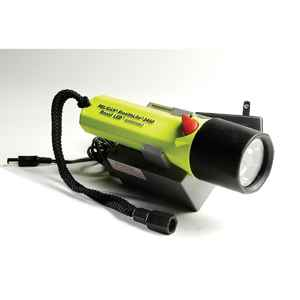 Pelican Products SteathLite Rechargeable Recoil LED,110V,Yellow, Clam Packed