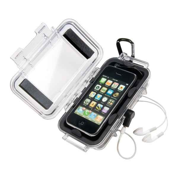 Pelican Products i1015 iPhone/iPod Touch Case, Black/Clear