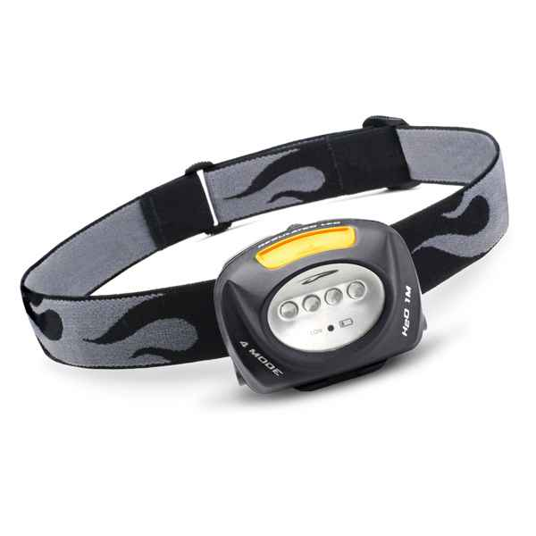 Princeton Tec Quad Headlamp, Black