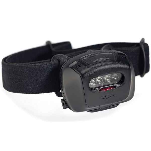 Princeton Tec Quad Tactical MPLS Headlamp,Black w/Red/Blue/Green/White LED
