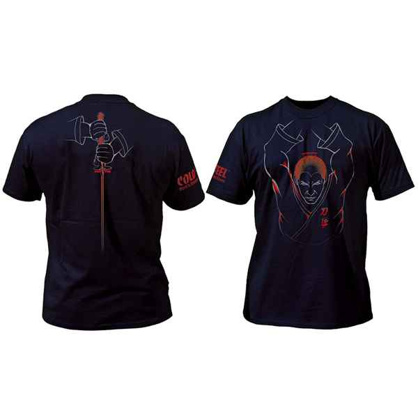 Cold Steel Samauri T-Shirt, Black, Medium