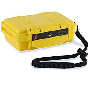 Underwater Kinetics UK 206 UltraBox, Empty, Yellow