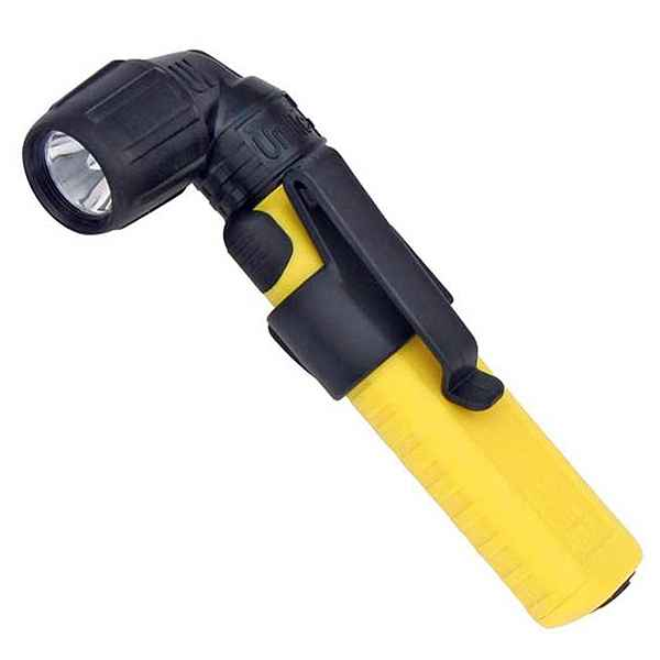 Underwater Kinetics UK Unilite Right Angle Head, Safety Yellow