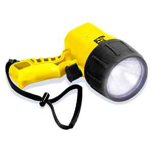 Underwater Kinetics UK Pistol Grip C4 Flashlight, eLED, 4C, Safety Yellow