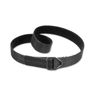 Uncle Mike's Reinforced Instructor's Belt, Black Nylon, Medium