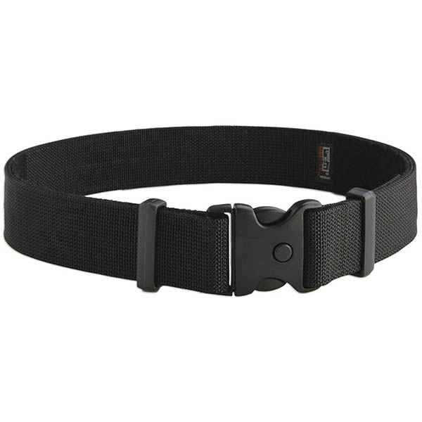 "Uncle Mike's Deluxe Duty Belt Kodra, Black, XL,  44-48"", Card"