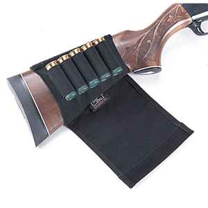 Uncle Mike's Kodra Shotgun Buttstock Shell Holder w/Flap